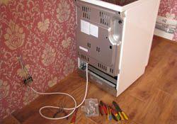 Подключение электроплиты. Киселевские электрики.