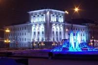 освещение фасадов в Киселевске