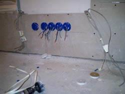 Электромонтажные работы в квартирах новостройках в Киселевске. Электромонтаж компанией Русский электрик