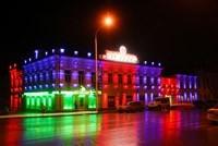 Наружное освещение: архитектурное освещение зданий и фасадов в г.Киселевск