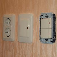 Монтаж, ремонт, замена выключателей Киселевск